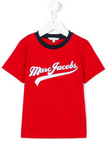Little Marc Jacobs varsity logo t-shirt - kids - Cotton - 4 yrs