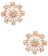 Artisan 18K Rose Gold & 3.32 Total Ct. Diamond Chakra Stud Earrings