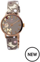 Radley Printed Leather Strap Watch