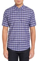 Zachary Prell Men's Piepho Trim Fit Plaid Sport Shirt