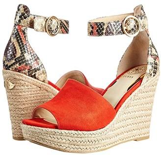 GUESS Haleey (Orange) Women's Shoes