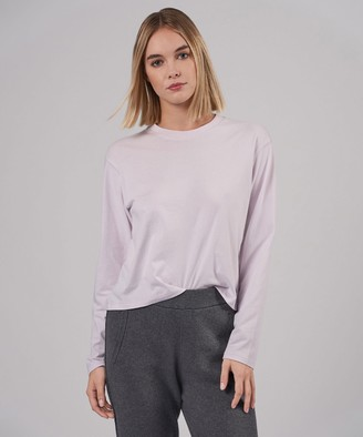Atm Classic Jersey Long Sleeve Boy Tee - Lavender