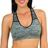 Fruit of the Loom Women's Seamless Yoga Bra