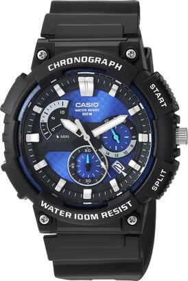 Casio Men's Retrograde Quartz Watch with Resin Strap