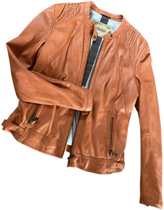 Oakwood Orange Leather Leather jackets