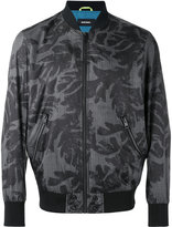 Diesel printed bomber jacket - men - Polyester - S