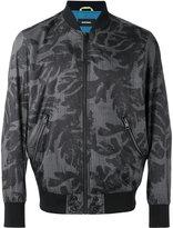 Diesel printed bomber jacket