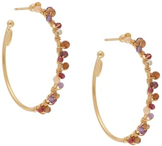 Gas Bijoux Calliope hoop earrings