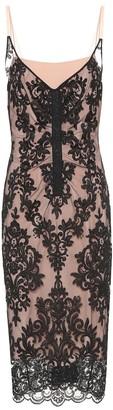 Nâ°21 Scalloped lace dress