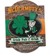 Cathy's Concepts CATHYS CONCEPTS Personalized Irish Pub & Grub Bar Sign