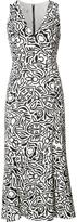 Narciso Rodriguez floral print shift dress - women - Silk/Spandex/Elastane - 42