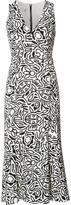 Narciso Rodriguez floral print shift dress - women - Silk/Spandex/Elastane - 42