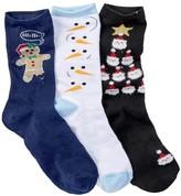 Free Press Christmas Crew Socks - Pack of 3