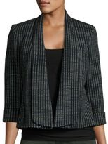 Nipon Boutique Textured Knit Blazer