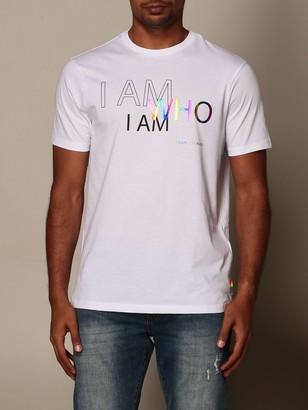 Armani Collezioni Armani Exchange T-shirt Armani Exchange Cotton T-shirt With Pride Print