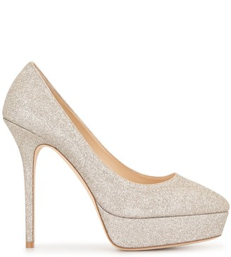 Jimmy Choo Jenara 125 platform pumps