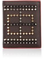 Christian Louboutin Men's Paros Wallet-DARK BROWN