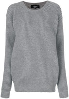 Rochas oversized ribbed sweater - women - Virgin Wool - 40