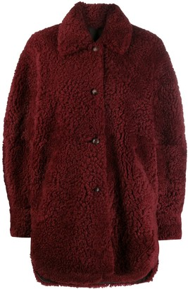 Isabel Marant Sarvey shearling coat