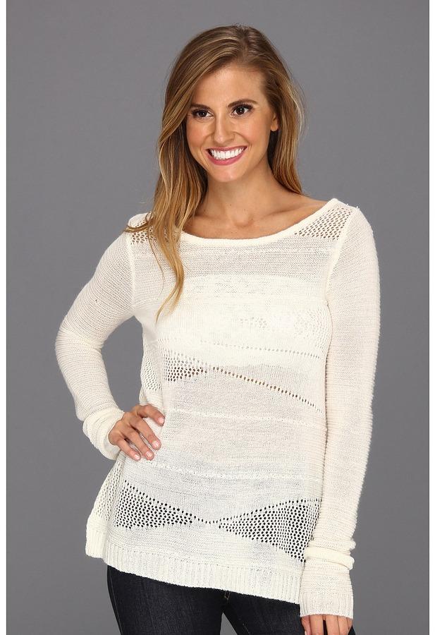 Billabong Spearz Sweater (White Cap) - Apparel