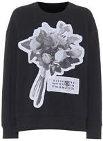 MM6 MAISON MARGIELA Printed cotton-blend sweatshirt