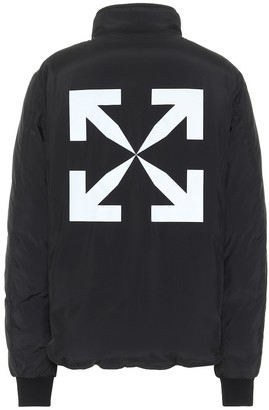 Off-White Reversible puffer jacket