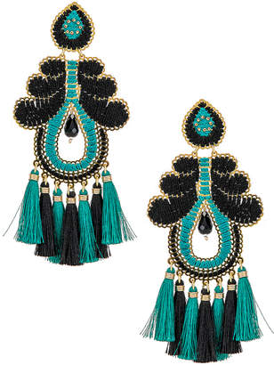 Mercedes Salazar Curubas Earrings in Turquoise | FWRD
