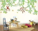 Pop Decors PopDecors - Playing Monkeys Kids Wall Decal - removable vinyl art wall decals stickers decal sticker mural