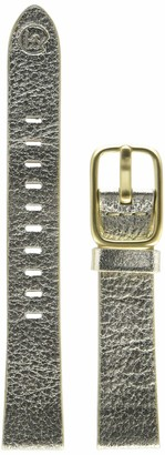 Hadley Roma b&nd by Hadley-Roma with Mode Gold 16mm Genuine Leather Watch Band