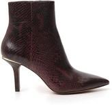 MICHAEL Michael Kors Snakeskin Effect Ankle Boots