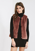 Forever 21 FOREVER 21+ Classic Faux Fur Vest