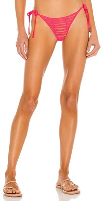Beach Bunny Hard Summer Tie Side Skimpy Bikini Bottom