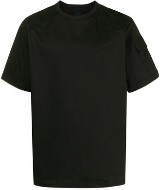Juun.J pocket-sleeve cotton T-shirt