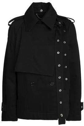 Proenza Schouler Eyelet-embellished Cotton-gabardine Jacket