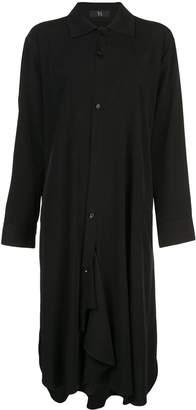 Y's drape shirt dress