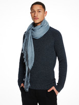 Scotch & Soda Fringed Scarf