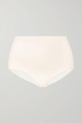 Marysia Swim Corsica Knotted Stretch-crepe Bikini Briefs - White