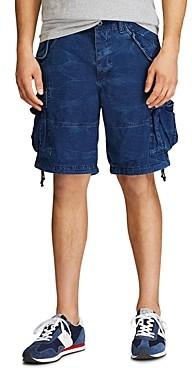 Polo Ralph Lauren Cotton Indigo Classic Tapered Fit Cargo Shorts