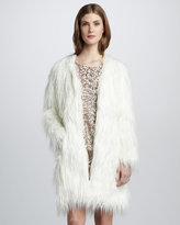 Rachel Zoe Petra Faux-Fur Coat