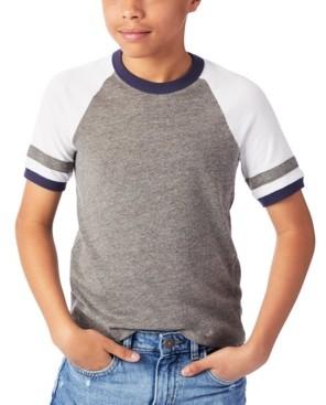 Alternative Apparel Big Boys and Girls Slapshot Jersey T-shirt