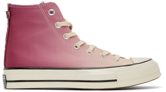 Converse Purple and Pink PrimaLoft Chuck 70 High Sneakers