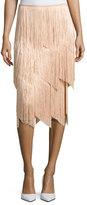Tom Ford Tiered-Fringe Maxi Skirt