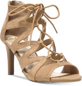 Fergalicious Heart Throb Lace-Up Dress Sandals