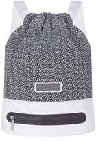 adidas by Stella McCartney Knit Backpack, White, One Size