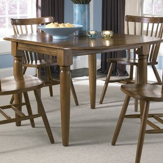 Three Posts Aubrianna Extendable Dining Table Color: Tobacco