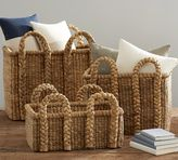 Pottery Barn Beachcomber Rectangular Handled Baskets