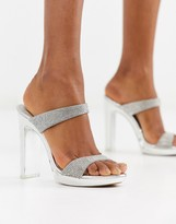 Steve Madden Glassy rhinestone heel sandal