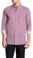 Ted Baker Floral Trim Fit Shirt