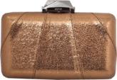 Kotur Espey Crinkle Bronze Clutch
