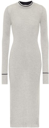 Maison Margiela Ribbed knit stretch-wool sweater